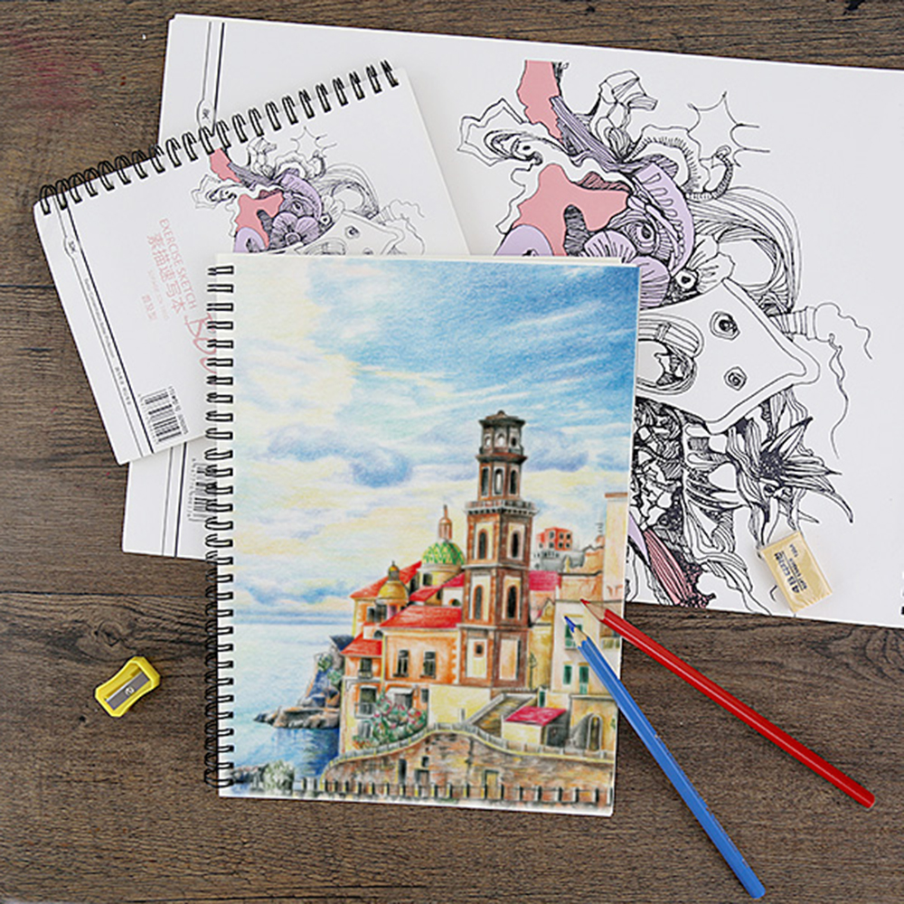 Drawing Paper Notebook Paper Marker Pad For Marker Designers Painting Effect Diagram Animation Architecture Clothing