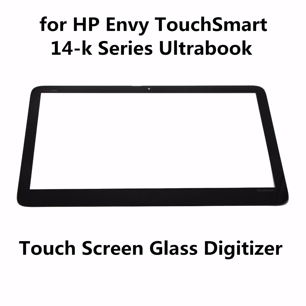 For HP Envy TouchSmart 14-K Series Ultrabook 14-k044tx 14-k107tx 14-k108tx 14-k110tx Touch Screen Glass Panel Digitizer Sensor 14 0 free wholesale touch screen digitizer glass for for samsung ativ book 5 np540u4e k01us ultrabook digitizer mcf 140 0847 v2