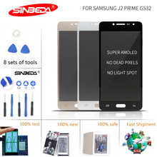 5.0 Sinbeda Super Amoled LCD For Samsung Galaxy J2 Prime Touch Screen Digitizer G532 G532L G532F for Display