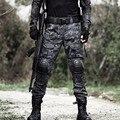 Hombre Pantalones de Camuflaje Táctico Militar Caza Pantalones para Hombre Del Ejército IX7 Ripstop Tren Urbano Python Pantalones Trajes de Carga Moda Masculina