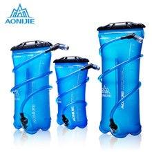 Aonijie saco de água ao ar livre dobrável peva esporte hidratação bexiga para acampamento caminhadas escalada ciclismo correndo 1.5l 2l 3l