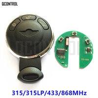 QCONTROL Remote Smart Key for BMW/MINI COOPER S ONE D CLUBMAN COUNTRYMAN CABRIO Car Lock 315MHz/315LP/433MHz/868MHz