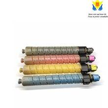 JIANYINGCHEN خرطوشة حبر ملونة متوافقة ل Ricohs MPC2000 MPC3000 MPC2500 طابعة ليزر ناسخة (4 قطعة/الوحدة)