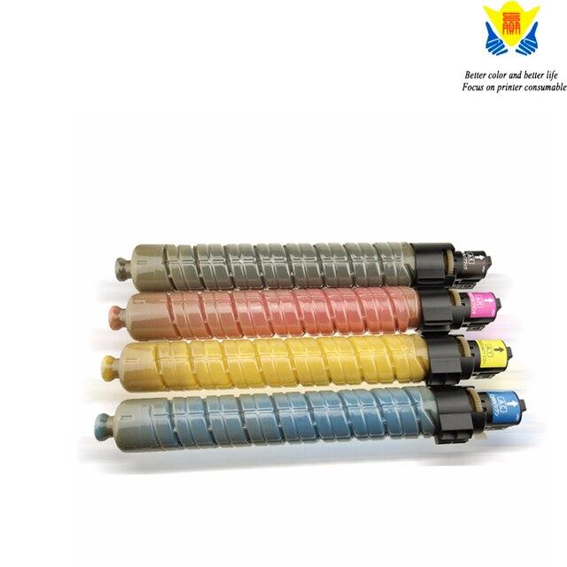 JIANYINGCHEN תואם צבע טונר מחסנית עבור Ricohs MPC2000 MPC3000 MPC2500 מכונת צילום מדפסת לייזר (4 יח\חבילה)