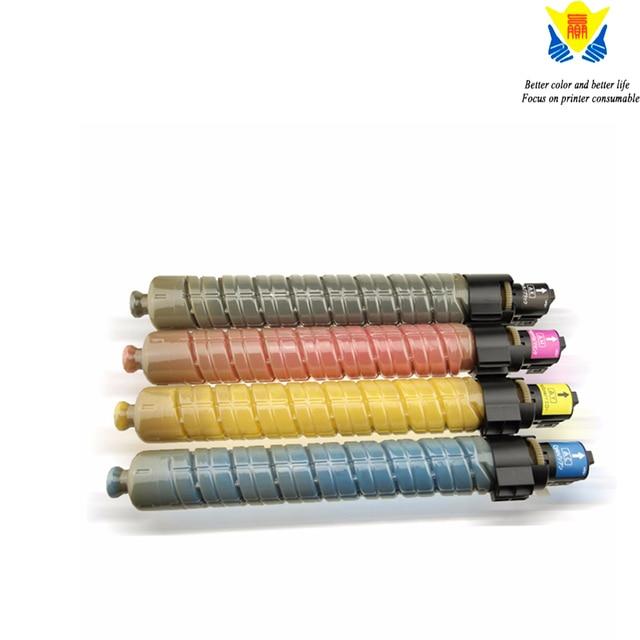 JIANYINGCHEN cartouche de Toner de couleur Compatible avec ricoh, pour imprimante laser, MPC2000, MPC3000, MPC2500 (lot de 4 pièces)