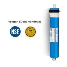 Новый Vontron 50 gpd Мембраны RO 5 этап фильтр для воды очиститель лечения обратного осмоса системы сертифицированы NSF/ANSI freeship