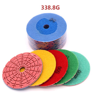 Image 3 - 100mm Diamond Grinding Disc Dry Polishing Pad For Jade Marble Granite Floor Stone Polished Grinding Wheel Flexible Abravise Pad