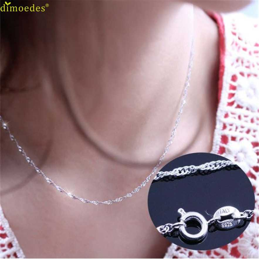 Diomedes Newest Necklace Women necklace wave chain of high-end women's jewelry, vintage jewelry