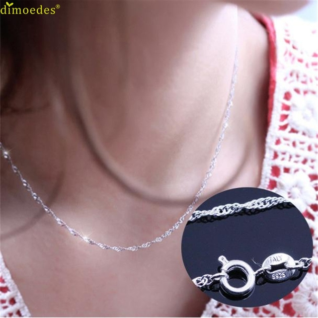Diomedes Newest Necklace Women necklace wave chain of high-end women's jewelry,