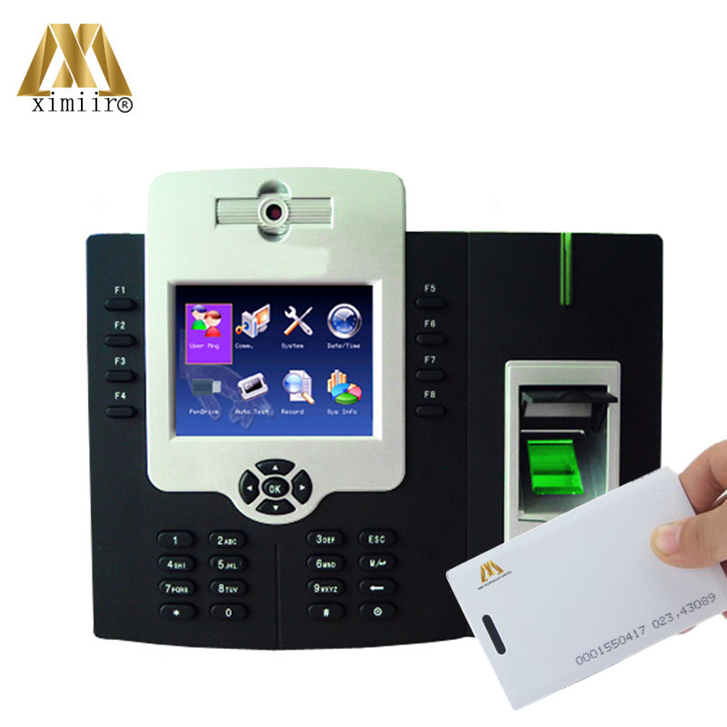 3.5 Inches TFT Screen Door Access Controller Iclock880H RFID Card TCP/IP Fingerprint Time Attendance Time Recorder