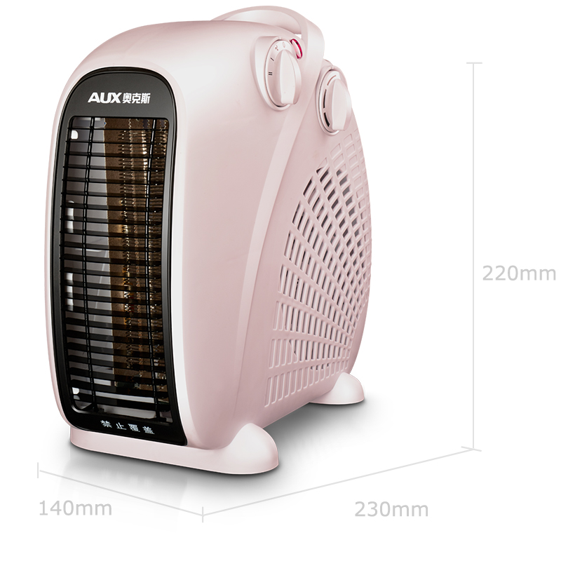 220V Mini Electric Heater Fan 3 Gear Control Vertical Energy-saving Household Office Fan Heater Fast Heating EU/AU/UK/US energy conservation and solar energy water heater electric heating tube flange air heating elements quartz glass heater tuebe