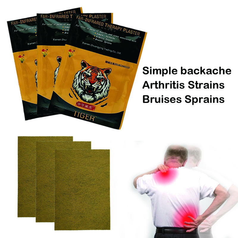 ZB 96PCS Pain Relieving Patch Neck Back Body Pain Relaxation Pain Plaster Tiger Balm Joint Pain Patch Killer Body Back Relax