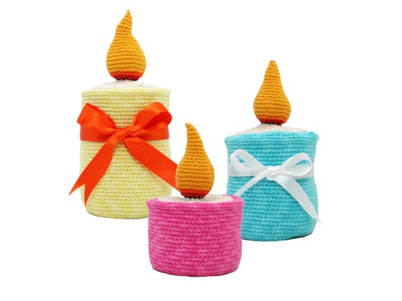 Crochet armigurumi hochet jouets bougeoir modèle numéro 893