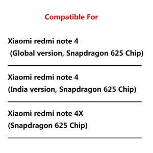 Image 5 - Чехол для xiaomi redmi note 4 глобальная версия, роскошный кожаный силиконовый чехол книжка с откидной крышкой, чехол для мобильного телефона xiaomi redmi note 4 global, чехол