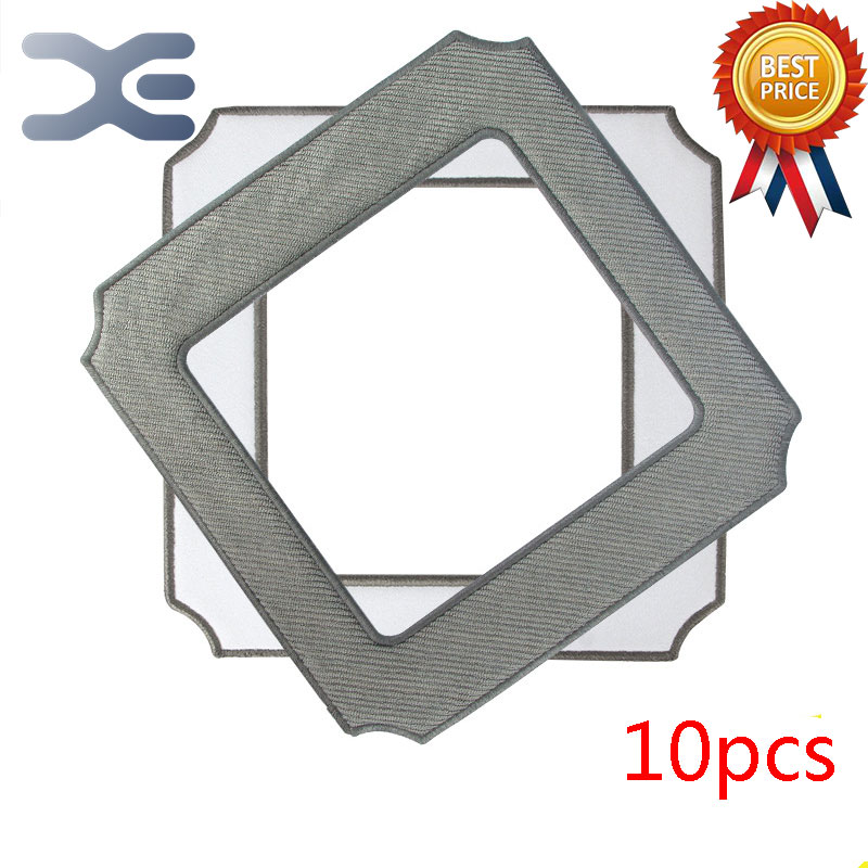 10Pcs Lot Vacuum Cleaner Parts Ecovacs Smart Wiping Window Cleaning Robot Accessory W850  Special Wiping Window Cleaning Cloth window cleaning robot fiber cloth 12 pcs lot high quality for window vacuum cleaner hobot168 188 etc window cleaning mop cloth