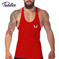 Mens Tanque Sexy Top Tees Undershirts Singlets Longarinas de Fitness Musculação Vest Camisas Sem Mangas Casuais