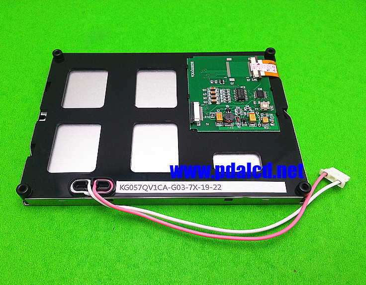 5.7 inch LCD screen for KG057QV1CA-G03-7X-19-22 Embroidery machine Injection molding machine LCD panel
