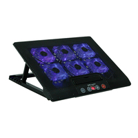 Laptop Cooler Cooling Pad Base LED 2 Stand For Macbook 11 To17 Inch Laptop Notebook Peripherals
