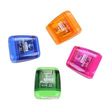 Classical Double Hole Mechanical Pen Pencil Sharpener Stationery Office Student School Supplies Korean Kids Gift недорого