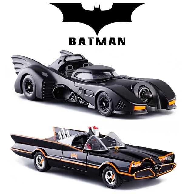 Cool 1:24 Movie Version Black Batman Die Cast Alloy Car Model Children  Racing