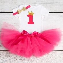 1 Year Baby Girl Princess Baptism Dress
