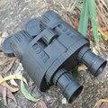 4x50 visión nocturna digital binocular con 850nm iluminador infrarrojo 300 M Rango toma 5mp foto y 720 p vídeo con 1.5 pulgadas TFT LCD
