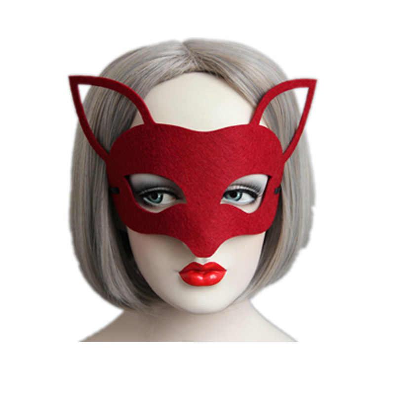 Seksowna elegancka maska na oczy i twarz Masquerade Ball Carnival Fancy Party maski na maskaradę maska wenecka maska na przyjęcie impreza z okazji halloween Fancy