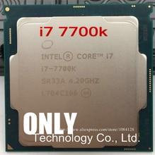 Intel Core i7 7700K işlemci 4.20GHz 8MB önbellek dört çekirdekli soket LGA 1151 dört çekirdekli masaüstü i7 7700KCPU