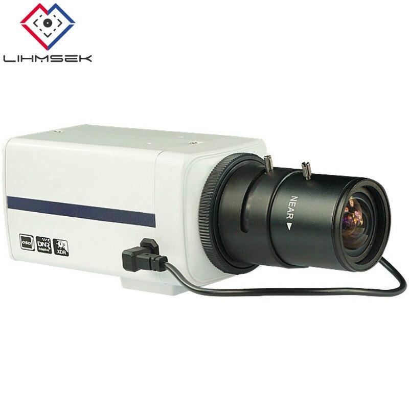 Lihmsek CCTV Metal HD SDI Box camera 2 0MP 1080P 1 3 Panasonic CMOS Sensor Digital