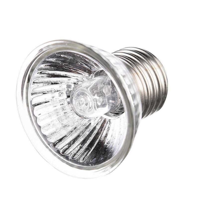 25/50/75W Reptile Heating Lamp Adjustable UVB Turtle Sunburn Lights Full Spectrum Sunlamp Warm Heat Preservation Illumination