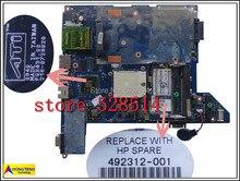original 518147-001 492312-001 For HP CQ40 Laptop Motherboard 216-0707011 100% Test ok