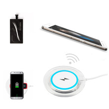 Qi Wireless Charger For Huawei p8 Lite Charging Pad Accessory Wireless Charger For Huawei P8 Lite with Qi Receiver Cover Case