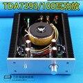 TDA7293 большой теплоотвод  двойной 100 Вт мощный профессиональный тепловой усилитель мощности  HIFI усилитель мощности