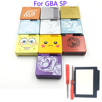 Cartoon Limited Edition Full Housing Shell Replacement For Nintendo Gameboy Advance SP For GBA SP Game