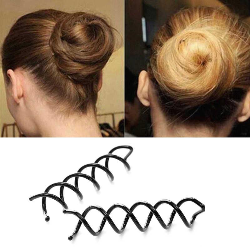 Color Spiral Screw Hairpin Hair Curler Hair Braid  Cute Girl  Hair Decor