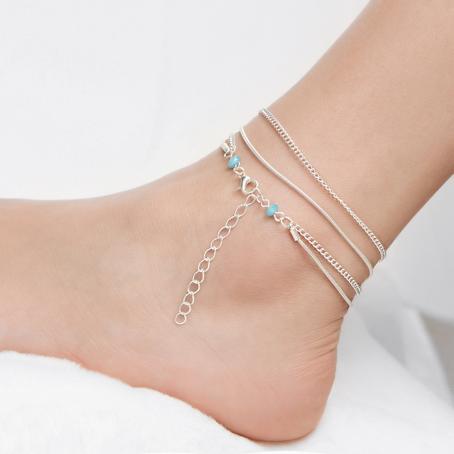 anklet orders jewelry hum healing om watches shipping product padme cuff over overstock free nepal mani on handmade