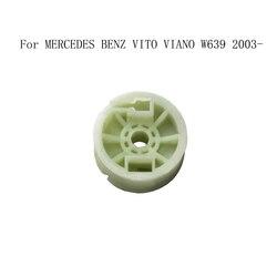Untuk MERCEDES BENZ VITO VIANO W639 2003-2016 Jendela Regulator Jendela Pengangkat Perbaikan Plastik Rol Roda Katrol Kiri atau kanan