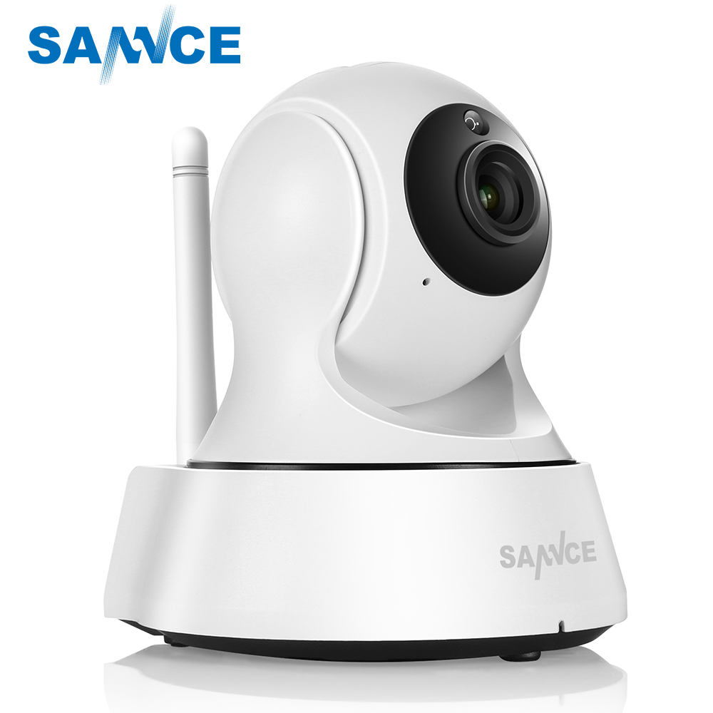 SANNCE 720P Home Security IP Camera Wireless Smart WiFi Camera WI-FI Audio Record Surveillance Baby Monitor HD Mini CCTV Camera times newspaper reading course of intermediate chinese 1 комплект из 2 книг