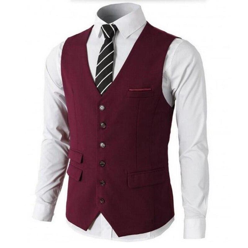 Groom Vests Groomsmen Suit Vest Custom Made Slim Fit Best Man Suit ...