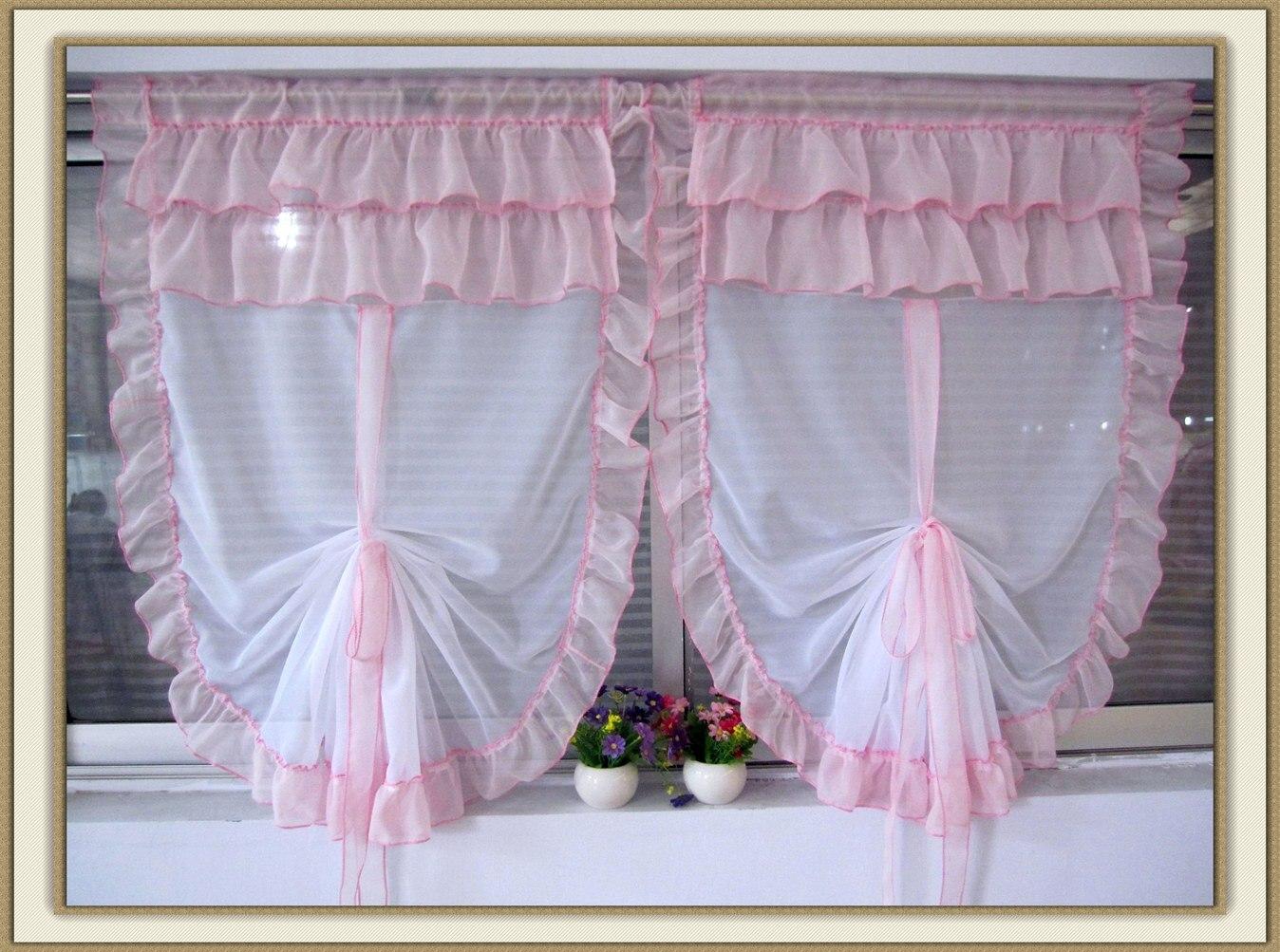 √Zhh 2016 tulle caliente para Bahía ventana persianas cortina ...