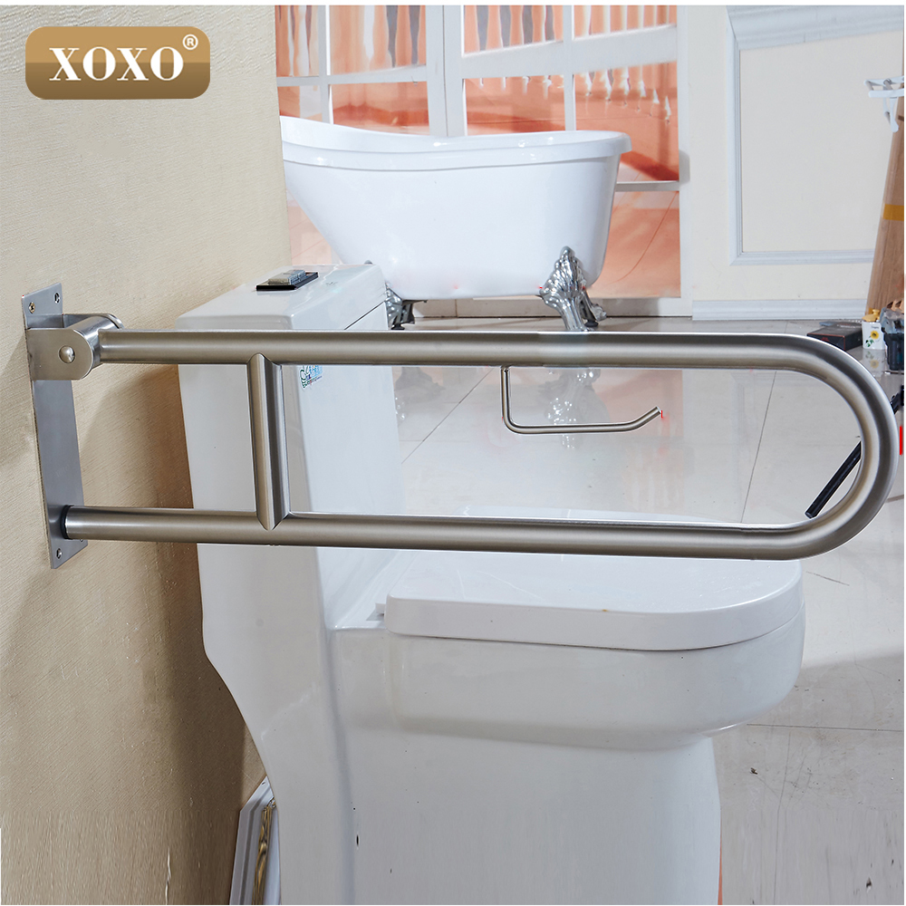 XOXO Bathroom Safety Grab Bars Handrails  Stainless Steel Grab Bars Old People And Disabled Person Handrails Handrails For 88075