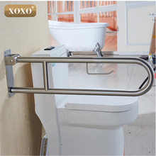 XOXO Bathroom Safety 304 Stainless Steel Grab Bars Old People Disabled  Handrails