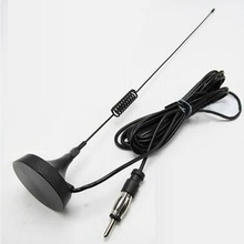 Antenna 1 PC Magnetic Car AM / FM Antenna Base With 2.8 Extension Cable For CD Auto Radio