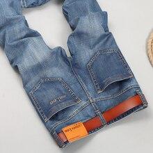 Mens Marke Jeans männer 2016 Regular fit jeans denim Biker jeans Kausalen hosen Gewaschen Blue jeans für männer