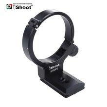 Adaptateur de support de pied de Base de remplacement de collier dobjectif iShoot pour Sony FE 70 200mm F/4G OSS anneau de montage de trépied avec plaque suisse Arca