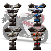 Hot sell Motorcycle Tank Pad Protector Sticker Fish Bone Sticker Fishbone Protective Decals For Yamaha YZF R1 R6