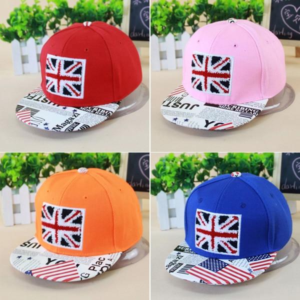 Дизайн британский флаг вышивка дети бейсбол кепка для мальчики девочки лето  кепка с прямым козырьком дети снэпбэк шляпа купить на AliExpress 2de65bec0072e