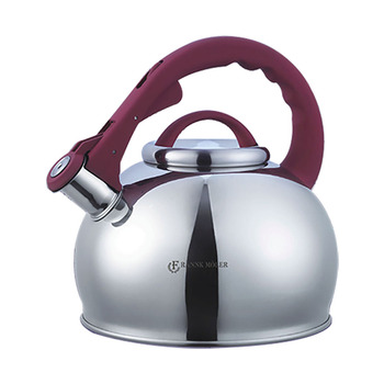 3L Stainless Steel Whistling Kettle Water Kettles Induction Gas Cooker Tea Water Pot Home Kitchen