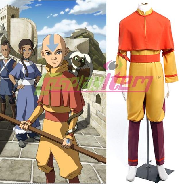 Custom Made Movie Avatar The Last Airbender Cosplay Aang