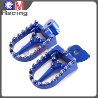 Motorcycle CNC Foot pegs Rest Pedals For Husqvarna CR SM SMR TC TE TXC WR 50 125 250 300 350 400 450 510 610 1999 2013 Dirt Bike
